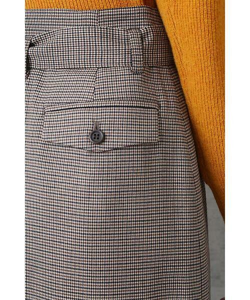 NATURAL BEAUTY BASIC / ナチュラルビューティーベーシック スカート | ベルテッドストレートスカート | 詳細9