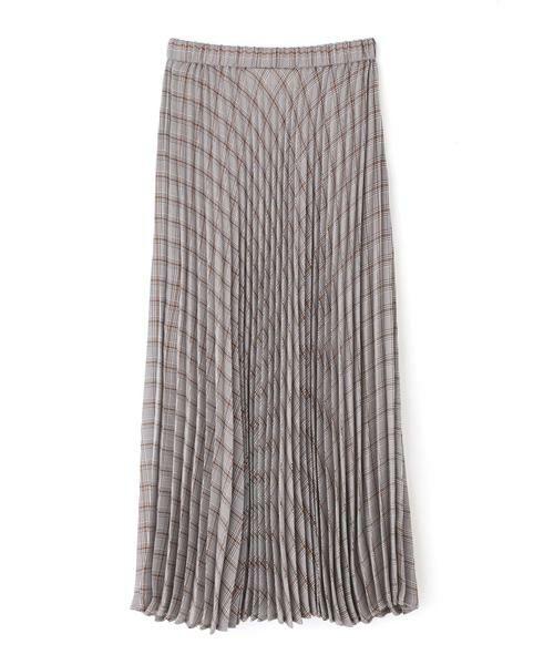 NATURAL BEAUTY BASIC / ナチュラルビューティーベーシック スカート | [洗える]チェックプリーツスカート◆ | 詳細1