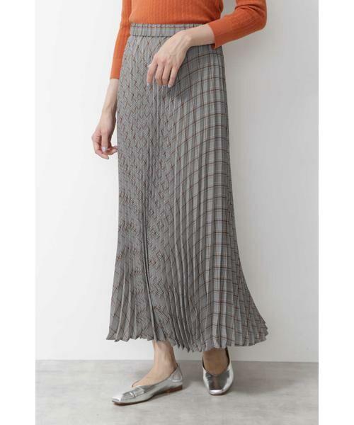 NATURAL BEAUTY BASIC / ナチュラルビューティーベーシック スカート | [洗える]チェックプリーツスカート◆ | 詳細2
