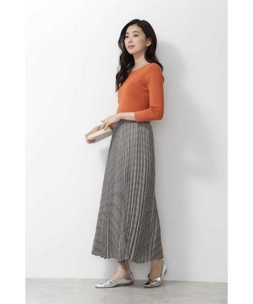 NATURAL BEAUTY BASIC / ナチュラルビューティーベーシック スカート | [洗える]チェックプリーツスカート◆ | 詳細3