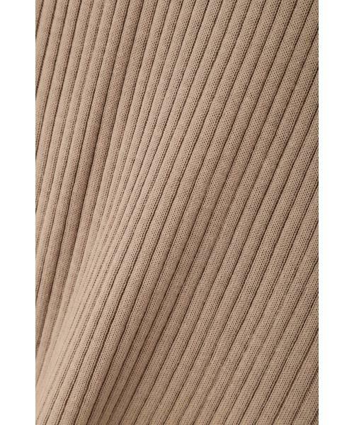 NATURAL BEAUTY BASIC / ナチュラルビューティーベーシック ニット・セーター | [洗える]キーネックリブニット | 詳細12