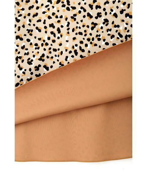 NATURAL BEAUTY BASIC / ナチュラルビューティーベーシック スカート | [洗える]2WAYリバーシブルアニマルプリントスカート◆ | 詳細12
