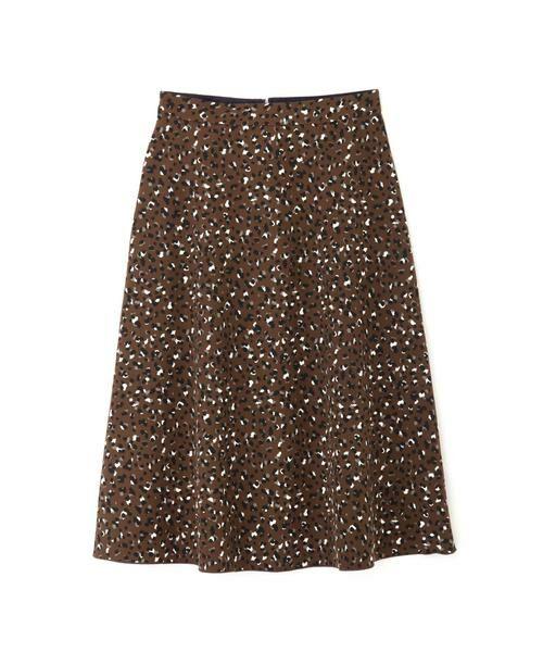 NATURAL BEAUTY BASIC / ナチュラルビューティーベーシック スカート | [洗える]2WAYリバーシブルアニマルプリントスカート◆ | 詳細15