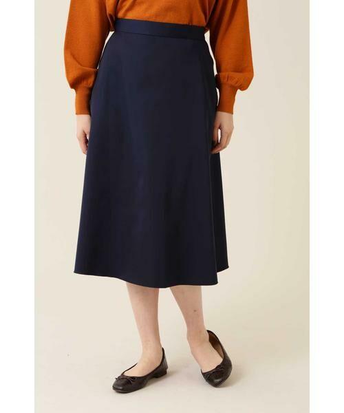 NATURAL BEAUTY BASIC / ナチュラルビューティーベーシック スカート | [洗える]2WAYリバーシブルアニマルプリントスカート◆ | 詳細20