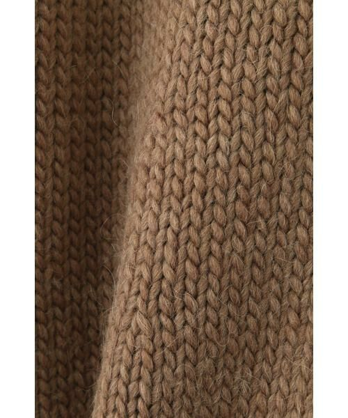 NATURAL BEAUTY BASIC / ナチュラルビューティーベーシック ニット・セーター | |CanCam 11月号掲載|手編み風ニット | 詳細25