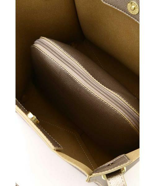 NATURAL BEAUTY BASIC / ナチュラルビューティーベーシック トートバッグ | |VERY 12月号掲載|ショルダーチェンジボックストート | 詳細9