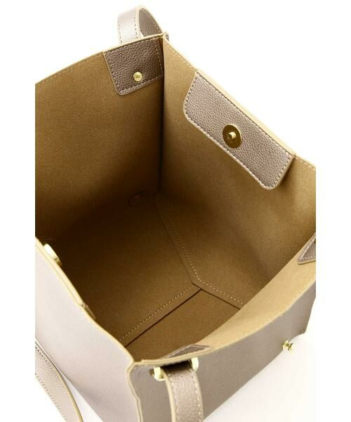 NATURAL BEAUTY BASIC / ナチュラルビューティーベーシック トートバッグ | |VERY 12月号掲載|ショルダーチェンジボックストート | 詳細10