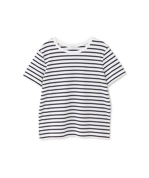 NATURAL BEAUTY BASIC / ナチュラルビューティーベーシック Tシャツ | |with CanCam 6月号掲載|ベーシックボーダーT◆ | 詳細6