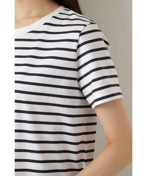 NATURAL BEAUTY BASIC / ナチュラルビューティーベーシック Tシャツ | |with CanCam 6月号掲載|ベーシックボーダーT◆ | 詳細13