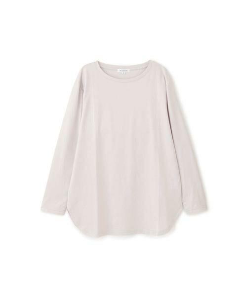 NATURAL BEAUTY BASIC / ナチュラルビューティーベーシック Tシャツ | |steady. 11月号掲載|ラウンドヘムロンT | 詳細10