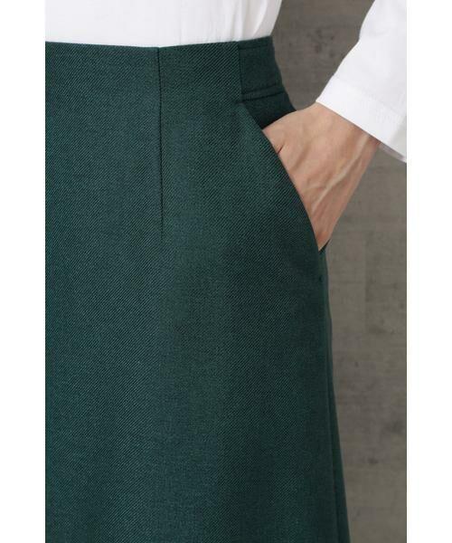 NATURAL BEAUTY BASIC / ナチュラルビューティーベーシック スカート | ライトツイードAラインスカート | 詳細22