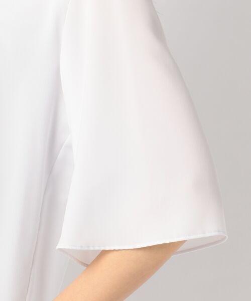 23区 / ニジュウサンク Tシャツ | 【洗える】シルキーストレッチツイル カットソー | 詳細9