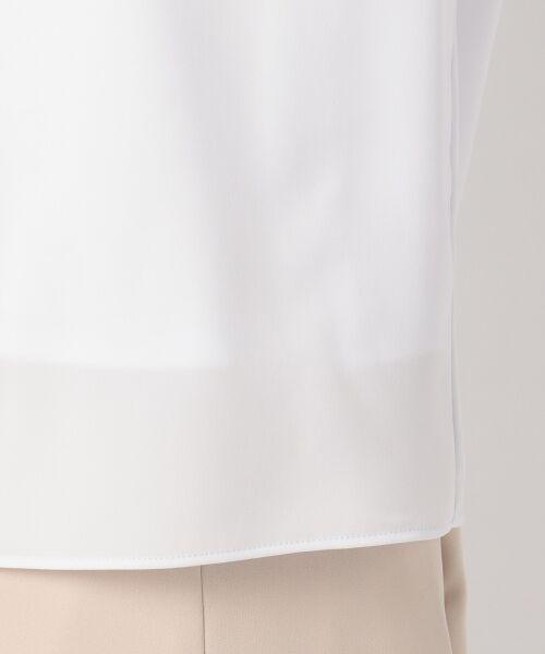 23区 / ニジュウサンク Tシャツ | 【洗える】シルキーストレッチツイル カットソー | 詳細10