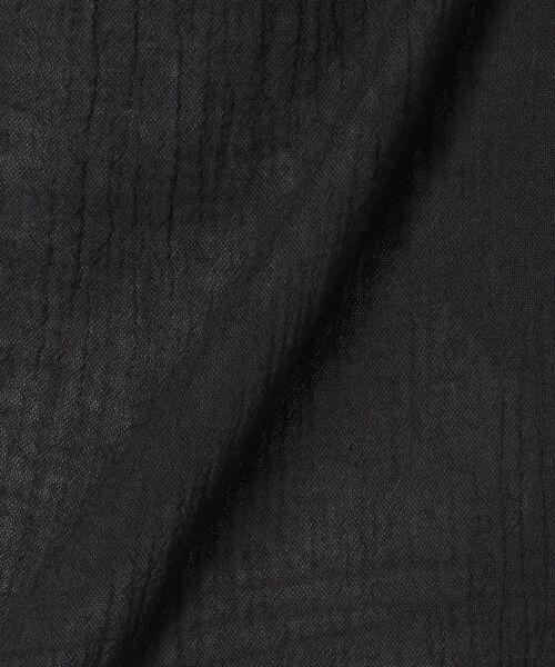 23区 / ニジュウサンク シャツ・ブラウス | 【洗える】コットンクレープエンブロイダリー ブラウス | 詳細10