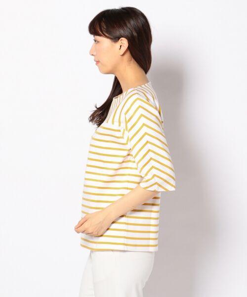 23区 / ニジュウサンク Tシャツ | 【洗える】ボーダーミックスTEE カットソー | 詳細3