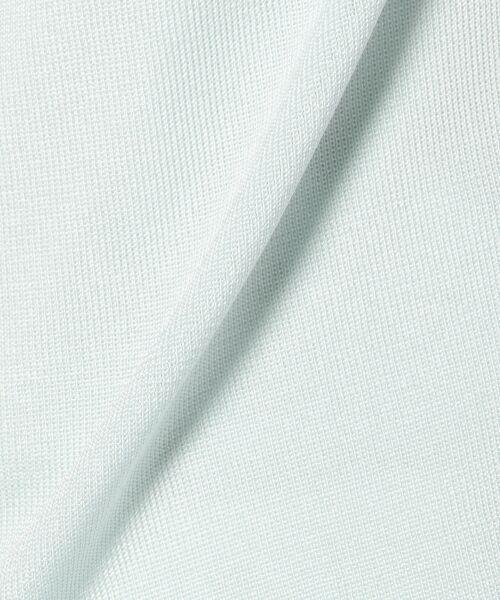 23区 / ニジュウサンク ニット・セーター | 【WEB限定カラーあり】シンセティックファイバー 半袖ニット | 詳細11