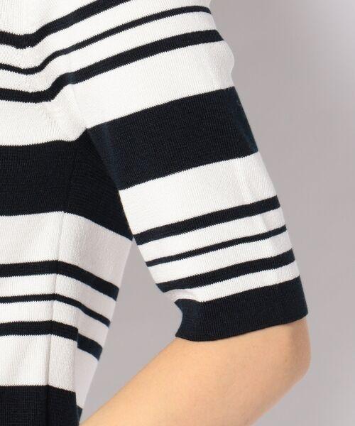 23区 / ニジュウサンク ニット・セーター | 【洗える】ドライコットンポリエステル 半袖ニット | 詳細14