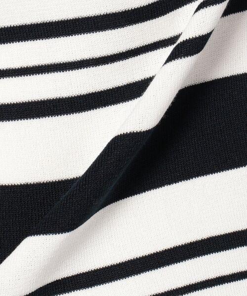 23区 / ニジュウサンク ニット・セーター | 【洗える】ドライコットンポリエステル 半袖ニット | 詳細16