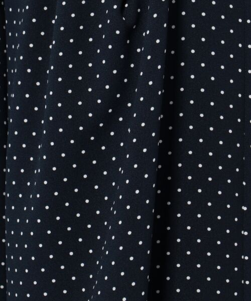23区 / ニジュウサンク その他パンツ   【洗える】POLKA DOT PRINT パンツ   詳細15