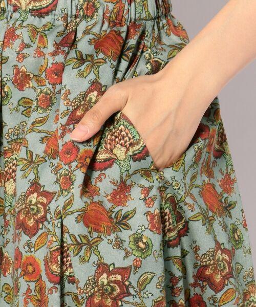 23区 / ニジュウサンク ミニ・ひざ丈スカート | 【洗える】CALICO PATTERN PRINT スカート | 詳細21
