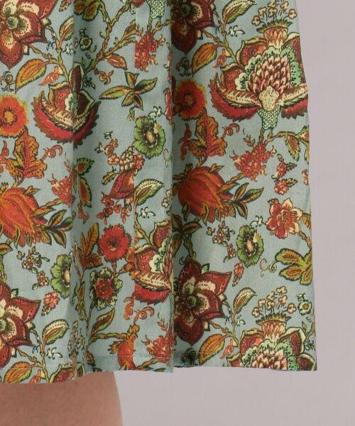 23区 / ニジュウサンク ミニ・ひざ丈スカート | 【洗える】CALICO PATTERN PRINT スカート | 詳細22