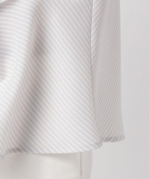 23区 / ニジュウサンク トップス | 【洗える】Fine Stripe プリント ブラウス | 詳細13