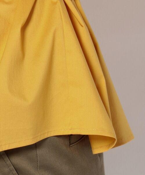 23区 / ニジュウサンク トップス | 【洗える】バックサテン タイプライター ブラウス | 詳細16