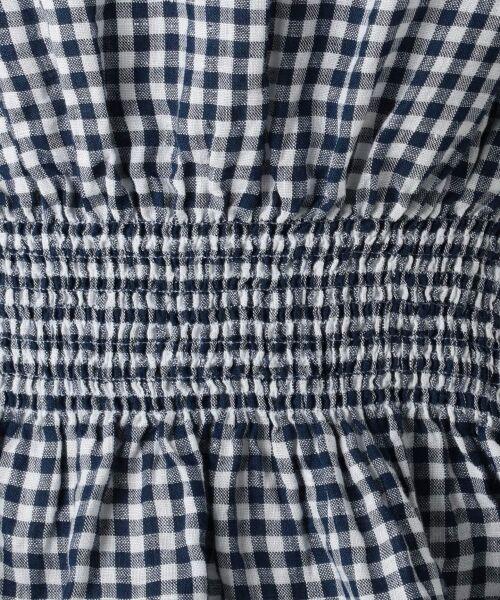 23区 / ニジュウサンク トップス | 【洗える】LIBECO LINEN シャーリング ブラウス | 詳細16