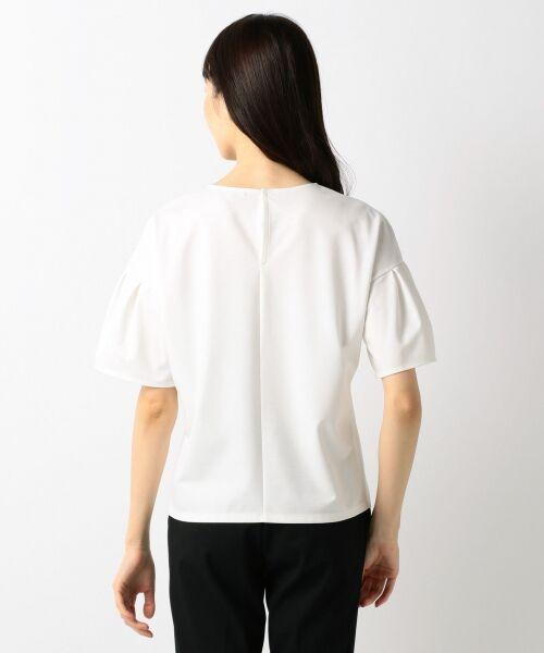 23区 / ニジュウサンク Tシャツ | 【洗える】キュプラモクロディ カットソー | 詳細4