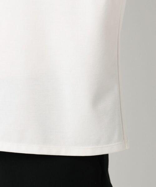 23区 / ニジュウサンク Tシャツ | 【洗える】キュプラモクロディ カットソー | 詳細7