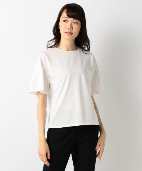 23区 / ニジュウサンク Tシャツ | 【洗える】キュプラモクロディ カットソー | 詳細2