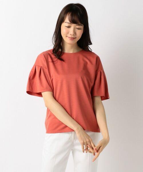 23区 / ニジュウサンク Tシャツ | 【洗える】キュプラモクロディ カットソー | 詳細12