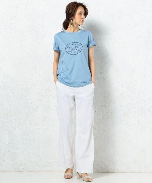 23区 / ニジュウサンク Tシャツ | 【洗える】TOILE de JOUY PRINT カットソー | 詳細24