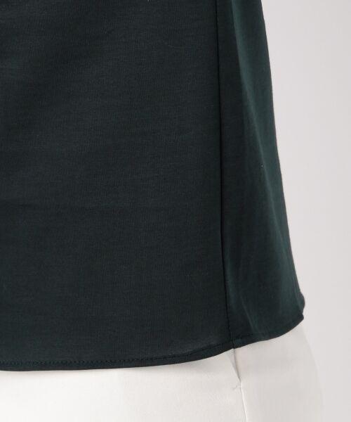 23区 / ニジュウサンク Tシャツ | 【洗える】ハイゲージジャージー カットソー | 詳細18