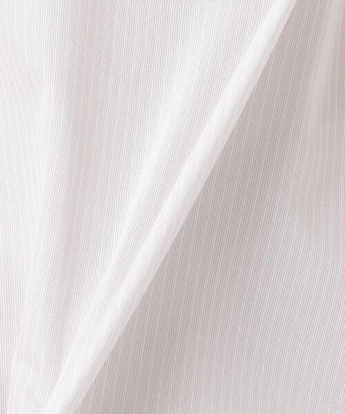 23区 / ニジュウサンク Tシャツ | 【洗える】トリコットストライプ ボリュームスリーブ カットソー | 詳細13