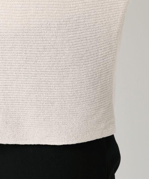 23区 / ニジュウサンク ニット・セーター | 【洗える】フローズンCO/LI ドルマン プルオーバー ニット | 詳細17