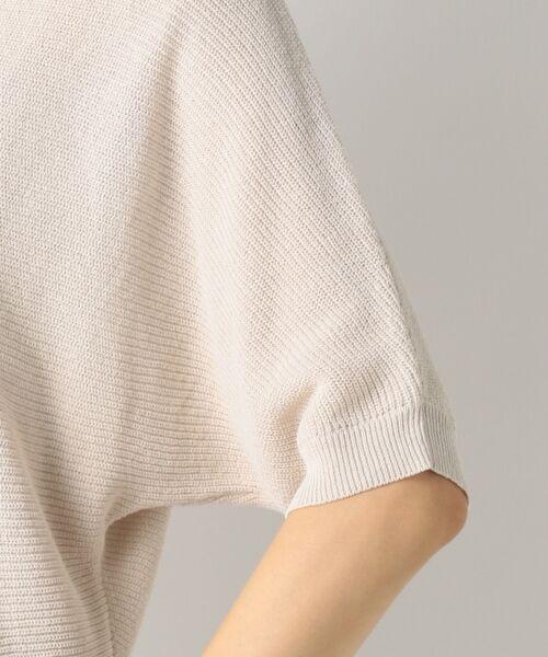 23区 / ニジュウサンク ニット・セーター | 【洗える】フローズンCO/LI ドルマン プルオーバー ニット | 詳細11
