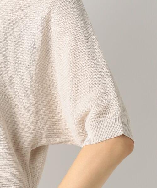 23区 / ニジュウサンク ニット・セーター | 【洗える】フローズンCO/LI ドルマン プルオーバー ニット | 詳細16