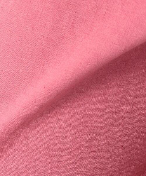 23区 / ニジュウサンク その他パンツ | 【洗える】リネンレーヨンストレッチ ワイドパンツ | 詳細23