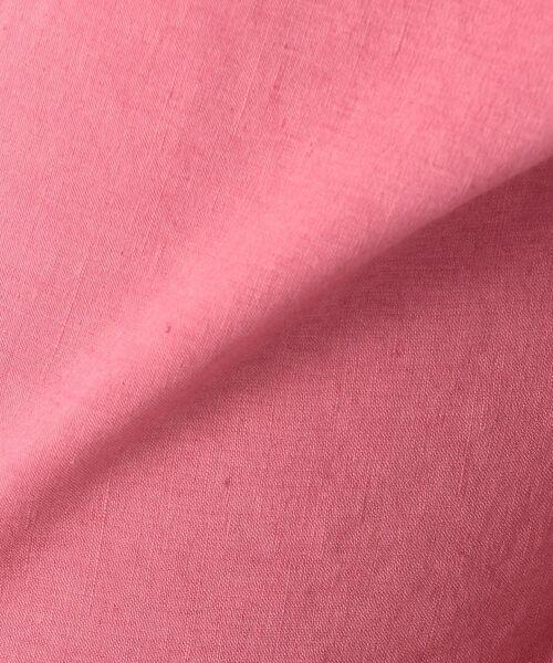 23区 / ニジュウサンク その他パンツ | 【洗える】リネンレーヨンストレッチ ワイドパンツ | 詳細25