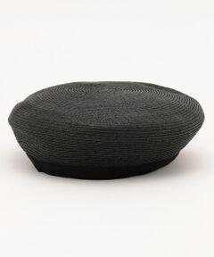 軽くナチュラルな素材感で、夏でも涼しく被れるベレー帽です。被るだけで、ワンランク上のスタイリングを楽しんでいただけるトレンドアイテムです。