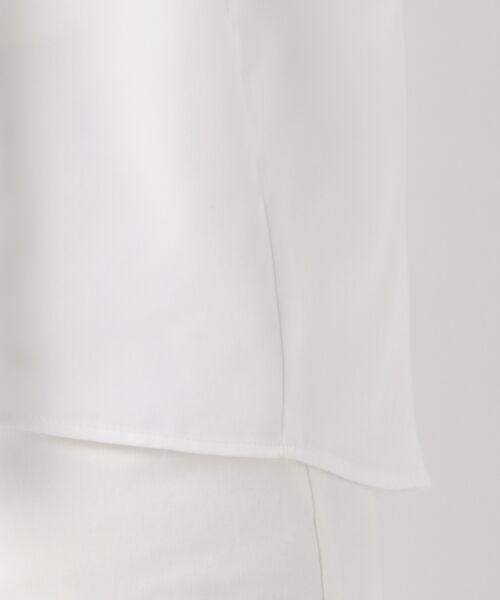 23区 / ニジュウサンク トップス   【洗える】ドレープキュプロツイル スキッパー ブラウス   詳細7