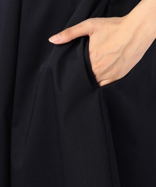 23区 / ニジュウサンク ミニ丈・ひざ丈ワンピース | 【洗える】60サテンストレッチ ワンピース | 詳細12