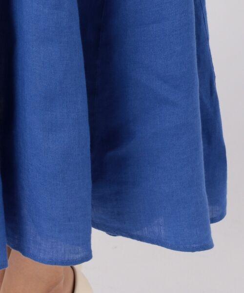 23区 / ニジュウサンク ミニ・ひざ丈スカート | 【洗える】LIBECOLINEN ロング スカート | 詳細5