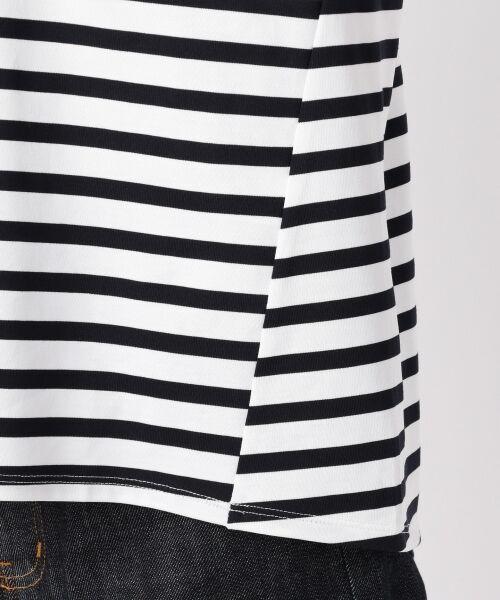 23区 / ニジュウサンク Tシャツ | 【洗える】CLASSIC COTTON JERSEY ボーダー カットソー | 詳細8
