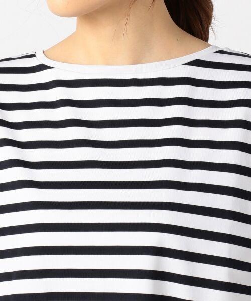 23区 / ニジュウサンク Tシャツ | 【洗える】CLASSIC COTTON JERSEY ボーダー カットソー | 詳細6