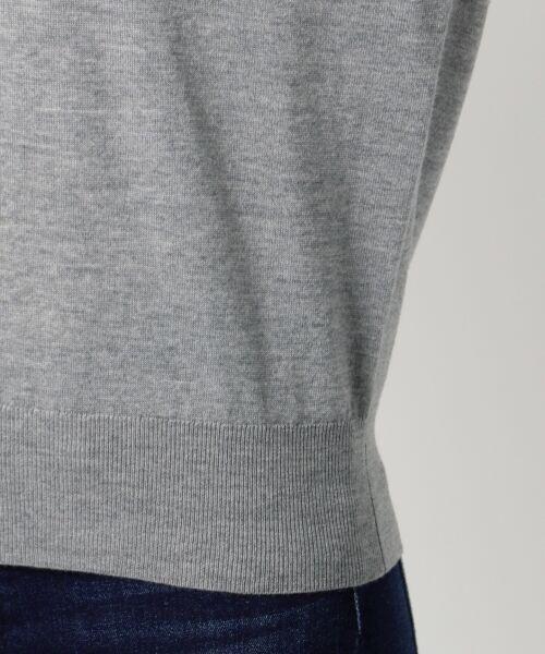 23区 / ニジュウサンク ニット・セーター | 【洗える】ウーステッドウール Vネック ニット | 詳細6