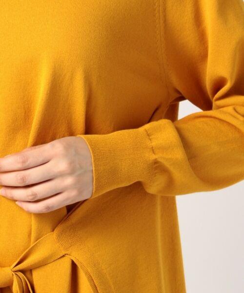 23区 / ニジュウサンク ニット・セーター | 【洗える】ドライウールブレンド リボンディティール ニット | 詳細7