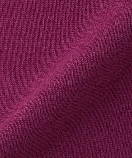 23区 / ニジュウサンク ニット・セーター | インポーテッドカシミヤブレンド Vネックニット | 詳細14