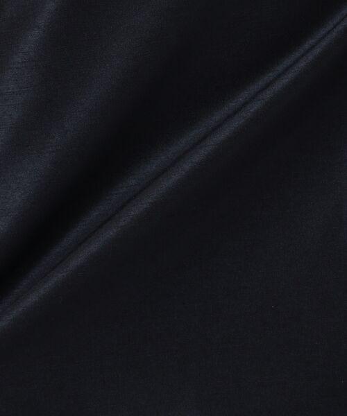 23区 / ニジュウサンク ドレス | 【セットアップ対応】バックサテンシャンタン ワンピース | 詳細9